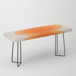 Echoes - Creamsicle Bench