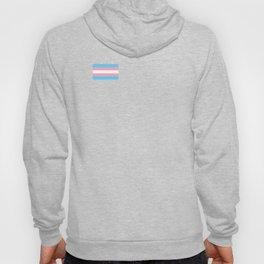 Gay Pride LGBT Transgender Rainbow Stripe Flag design Hoody