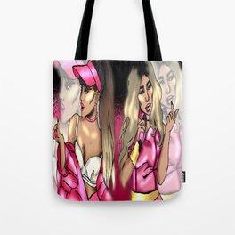 Pink Addict Tote Bag