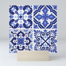 Mediterranean Tiles Design Nº1 Mini Art Print