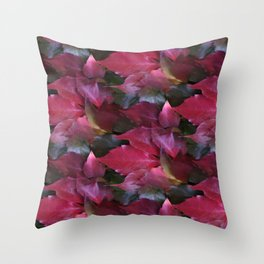 fall is coming -16- Throw Pillow