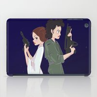 ripley iPad Cases featuring Leia and Ripley by Ashley Anderson