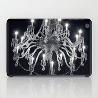 chandelier iPad Cases featuring Chandelier by Ink and Paint Studio