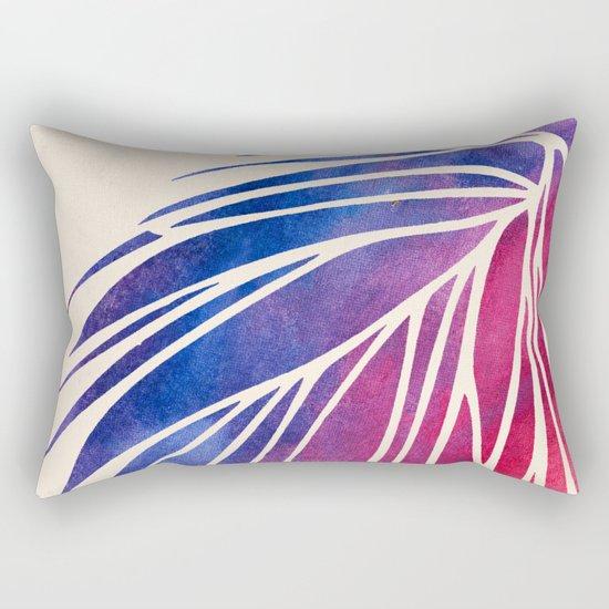 Watercolor Porcupine Rectangular Pillow