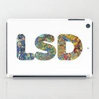 lsd iPad Cases featuring Simply LSD by Teo Sharkson