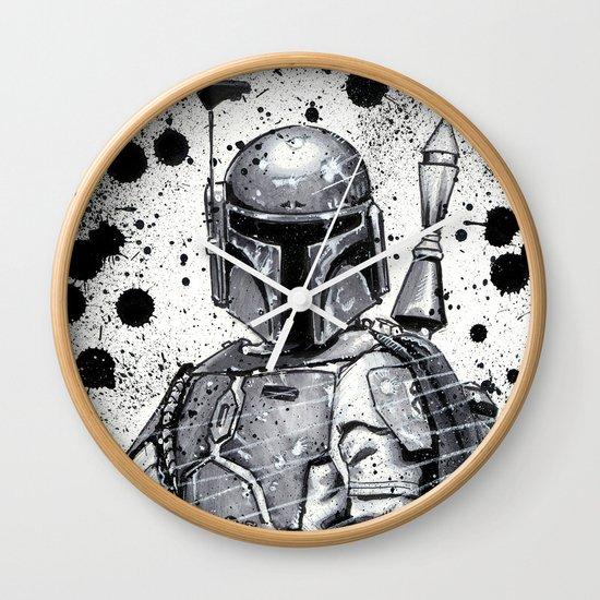 Boba Fett: Bounty Hunter Wall Clock