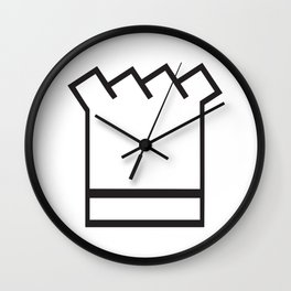 Chef In The Kitchen Wall Clock