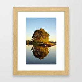 Morning Glass Framed Art Print