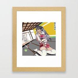 shibari 2 Framed Art Print