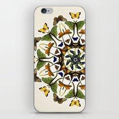 Kaleidoscope with Wings iPhone & iPod Skin