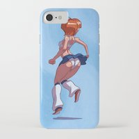 tina crespo iPhone & iPod Cases featuring Tina by Corwin