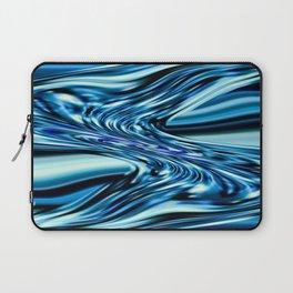 Splash of Blue Laptop Sleeve
