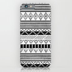Harry Potter Inspired Tribal Print (Black and White) Slim Case iPhone 6