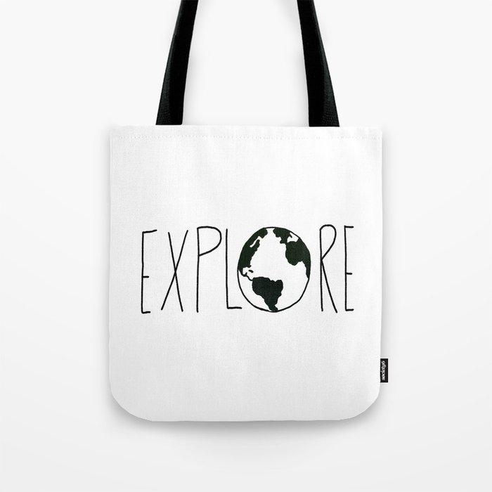 Explore the Globe x BW Tote Bag
