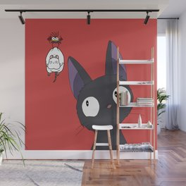 Jiji x Spirited Away Wall Mural