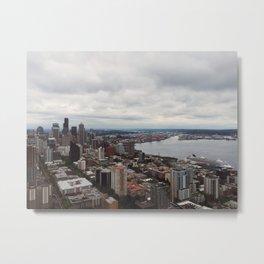 Space Needle (Seattle, WA) Metal Print