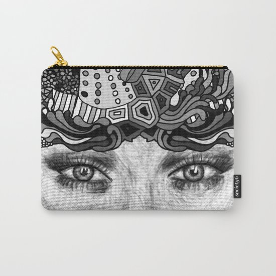 Courage Monotone Carry-All Pouch