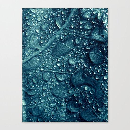 blue water XVI Canvas Print