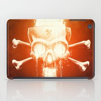 sam smith iPad Cases featuring Black Smith by Dr. Lukas Brezak