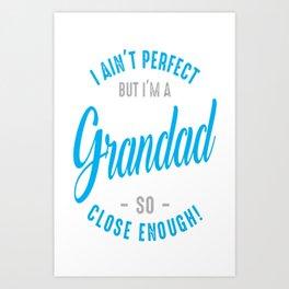 I'm-a-Grandad Art Print