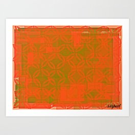 gold space? Art Print
