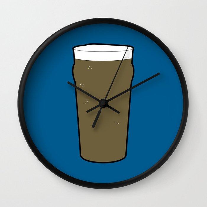 Beer Glasses (Pint) Wall Clock
