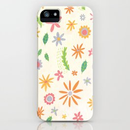 Colourful Daisies iPhone Case