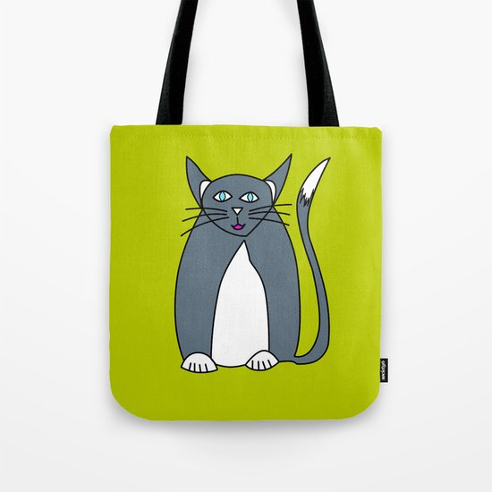 Pussy cat Pussy cat, I love you! Tote Bag