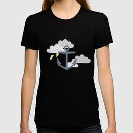 Stormy Nautical Pattern 2 T-shirt