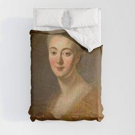 Jean-Honore Fragonard - Portrait of Elisabeth-Sophie-Constance de Lowendhal, Countess of Turpin de C Comforters