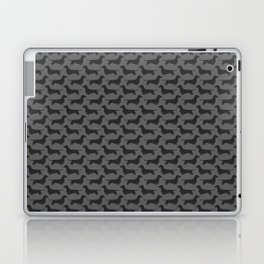 Dachshund Silhouette(s) Laptop & iPad Skin