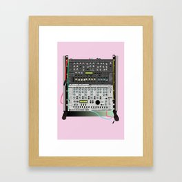 Synth Two Framed Art Print