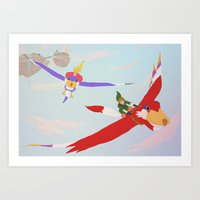 Skyward Sword Art Print