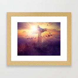 ludic Framed Art Print