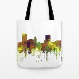Fort Wayne, Indiana Skyline SG - Safari Buff Tote Bag