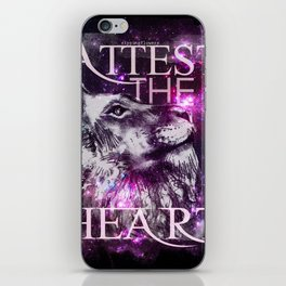 Galaxy Lion iPhone Skin