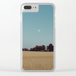 The Moon and the Church Clear iPhone Case