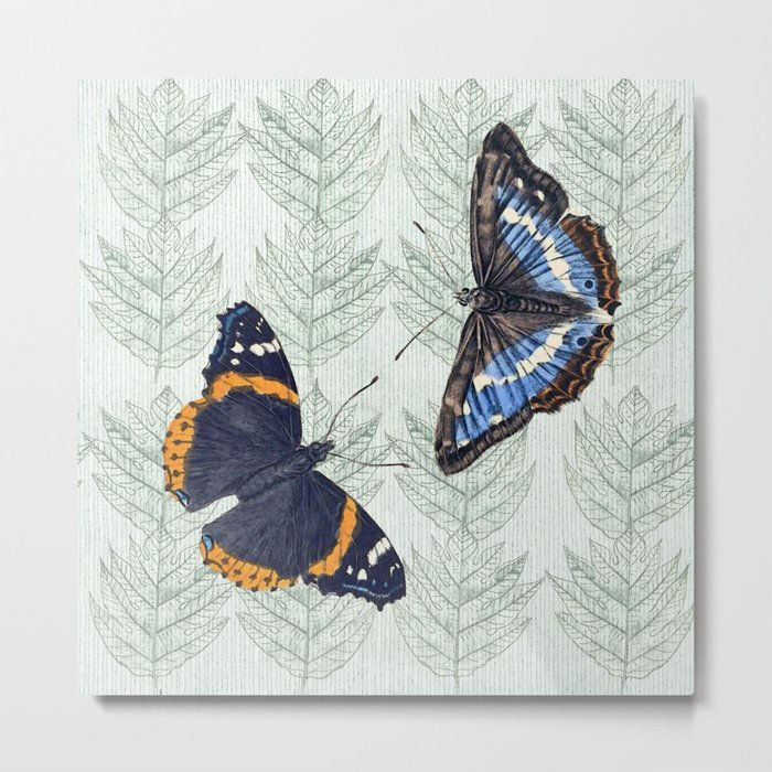 A Butterfly summer Metal Print