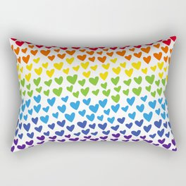 Love is everywhere Rectangular Pillow