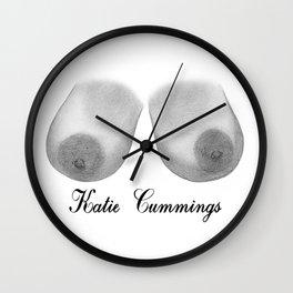 Katie Cummings Wall Clock