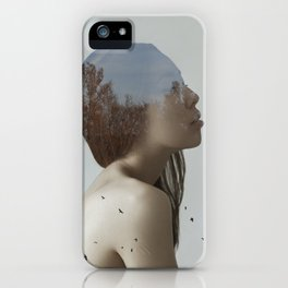 Being in nature iPhone Case