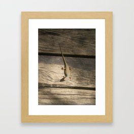 SUNBAKING Framed Art Print