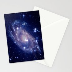 Galaxy deep in space. Stationery Cards