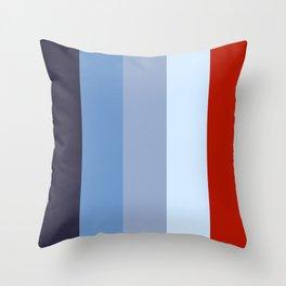 Colorful Stripes II Throw Pillow