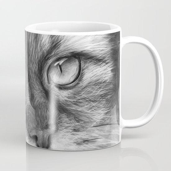 Cat Drawing Mug