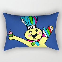 Muffin Man Rectangular Pillow