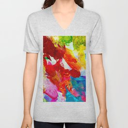 The Colors of my Life Unisex V-Neck