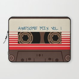 awesome mix vol 1 new hot 2018 CD love cute sticker cover iphone pattern casate art support design Laptop Sleeve