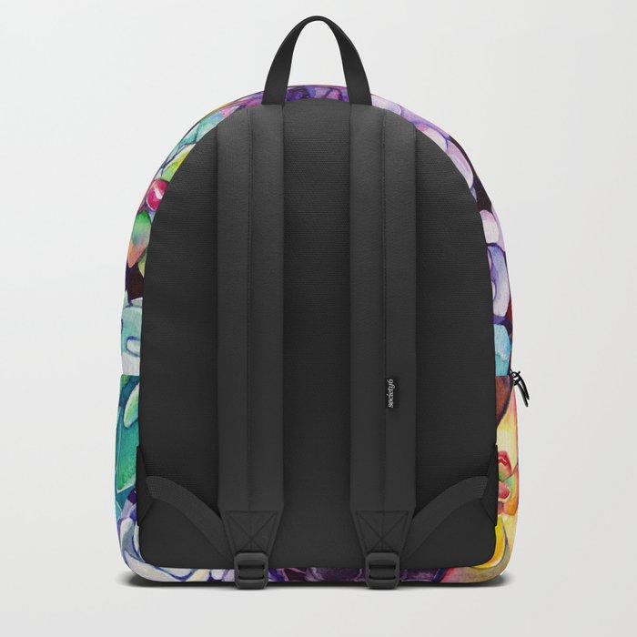 Succulent Garden Backpack