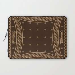Morning Star (Brown) Laptop Sleeve